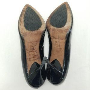 Donald J. Pliner Shoes - Donald J Pliner Black Patent Leather Pumps Heels